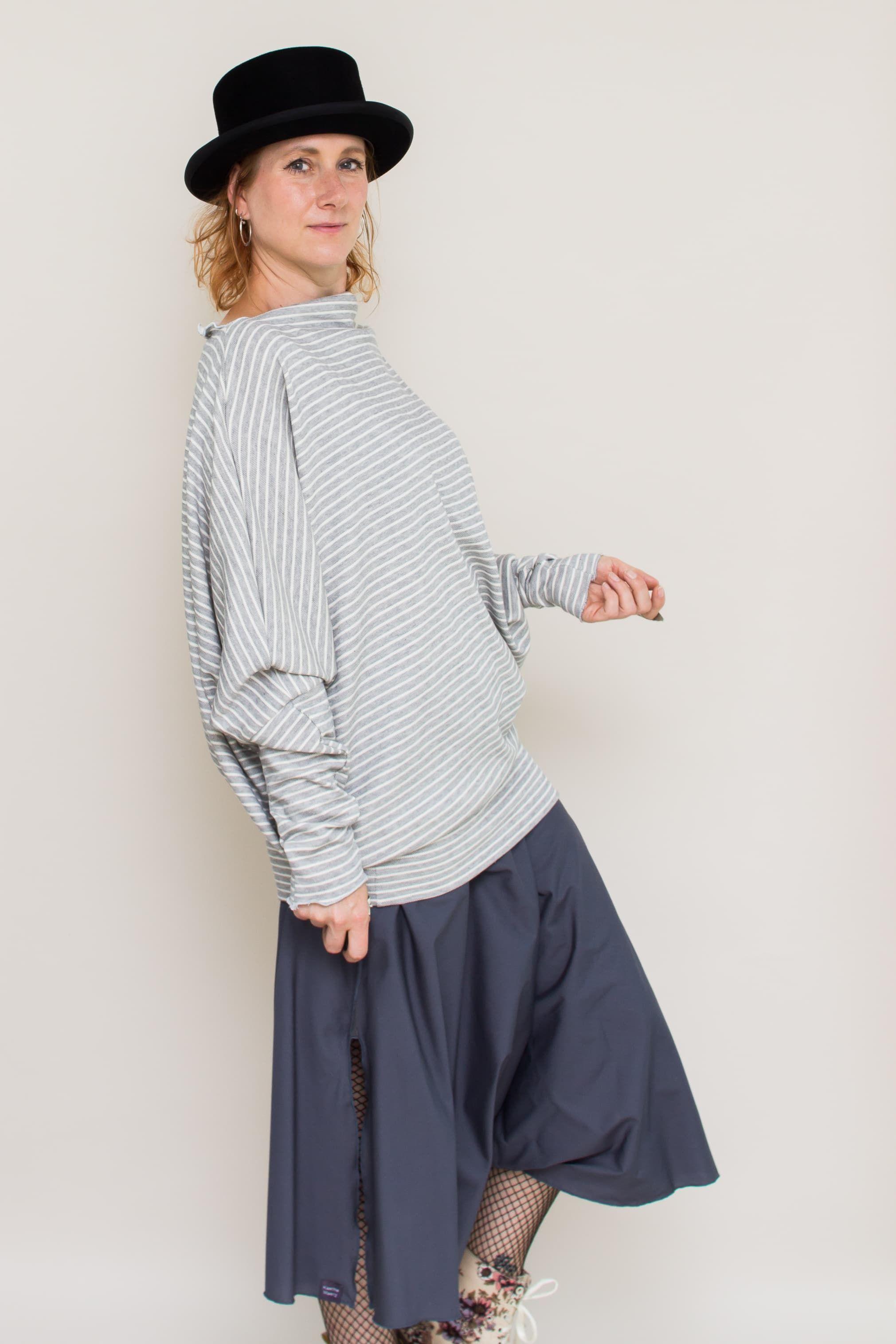 Meda Oversized Pullover-Kleid